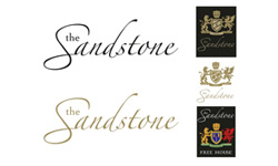 The Sandstone logo design