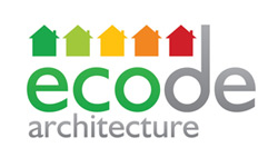 Ecode architecture logo design