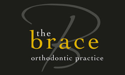 The Brace logo design