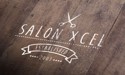 Salon Xcel logo design