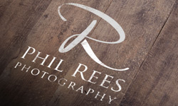 Phil Rees Photography graphic design